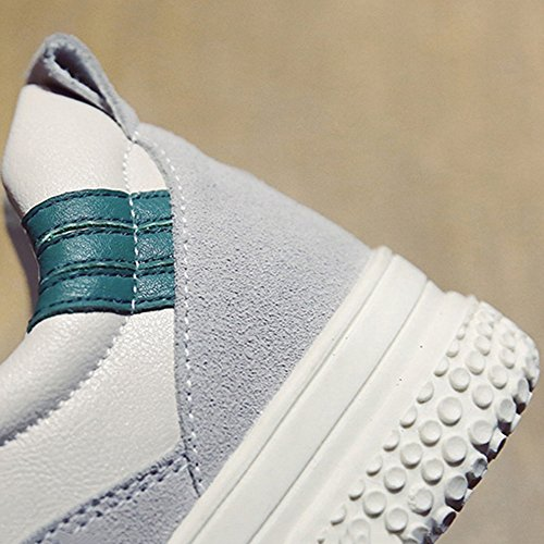 Ms Colores Inferior Zapatos Otoño Solo Verano Fondo Versión Nan Rojo Verde Serie Dos Ocio Coreana Grueso Piso BqRdn8