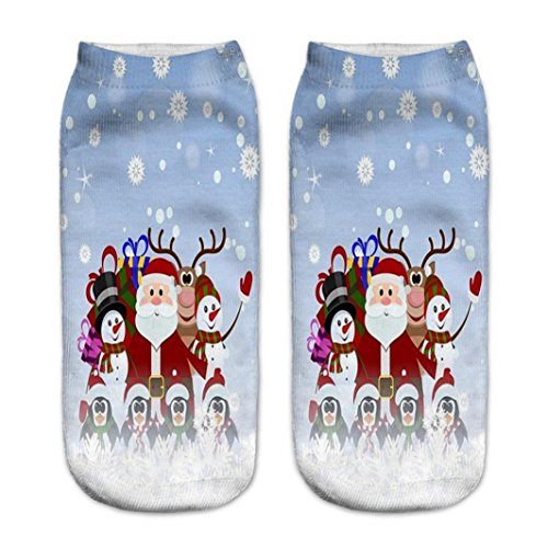 Womens 3D Printed Unisex Cotton Cartoon Socks (Colorful candy) - 3