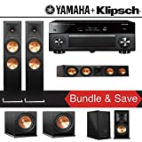 Klipsch RP-280F 5.2-Ch Reference Premiere Home Theater System with Yamaha AVENTAGE RX-A2070BL 9.2-Channel Network A/V Receiver