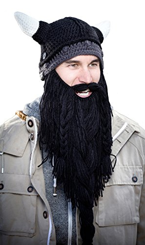 Original pillager negro sombrero bárbaro nbsp;– Head® nbsp;el Barba barba Knit 4fHqtUw