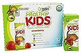 Orgain Healthy Kids Organic Nutritional Shake Strawberry - 12 Shakes