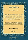 download ebook the whole works of the reverend and learned mr. john willison, vol. 3 of 4: containing: i. the balm of gilead, for healing a diseased land, &c., &c., ... directory, &c., &c., &c (classic reprint) pdf epub