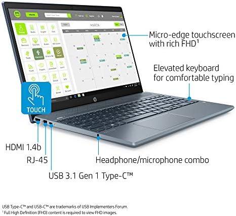 "HP Pavilion 15 2020 Newest Premium Business Laptop I 15.6"" FHD IPS Touchscreen I 10th Gen Intel Quad-Core i7-1065G7 I 32GB DDR4 2TB SSD I 4GB MX250 Backlit KB Win 10 +Delca 32GB Micro SD Card"