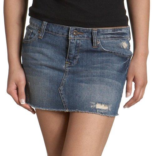 Zoo York Juniors Denim Mini Skirt
