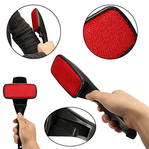 Lint Brush Fabric Pet Hair Remover Fluff Dust Cleaning Ro...