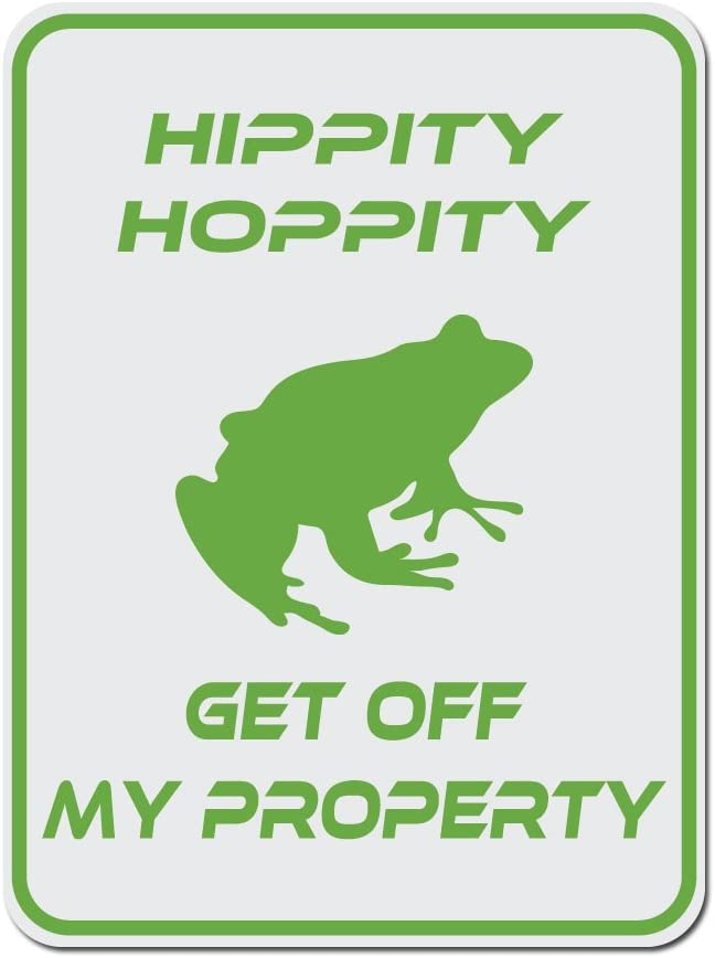 Amazon Com Dark Spark Decals Hippity Hoppity Get Off My Property Frog No Tresspassing Novelty Sign 12 X9 Caution Sign Made In The Usa Home Kitchen R/entitledparents hippity hoppity, your airpods are my property! dark spark decals hippity hoppity get off my property frog no tresspassing novelty sign 12 x9 caution sign made in the usa