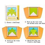 Color Code, SainSmart Jr. 100 Challenge Puzzle Game, Develop Logic Spatial Reasoning Skills