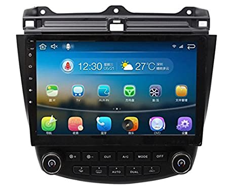 Android 5.1.1 7ª 2003 – 2007 Honda Accord único zona 10.1 Inch Indash Car