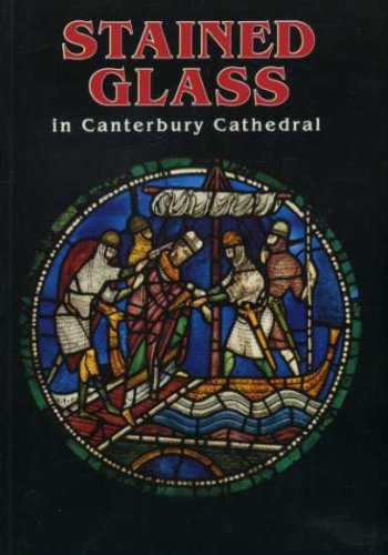 (Stained Glass in Canterbury Cathedral)