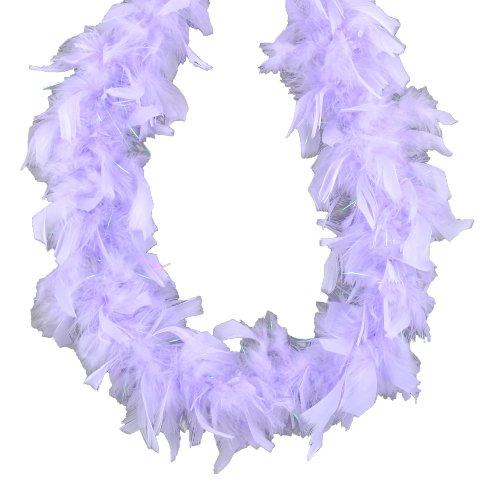 Touch of Nature 36700 Mini Boa, Lavender with Lurex - Lavender Boa