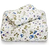 Laura Ashley Flannel Twin Sheet Set, Spring Bloom