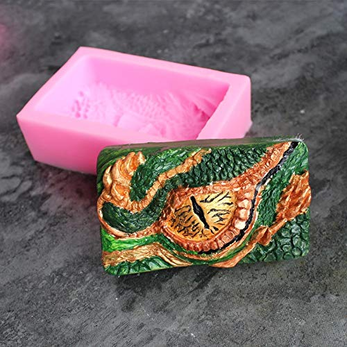 Longan Silicone Mold Mould 3D Molds Diy Fondant Cake Soft Candy Dry Pez Soap Plaster Decoration ()