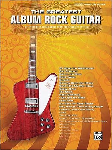 Amazon com: The Greatest Album Rock Guitar: 37 of the Best Guitar