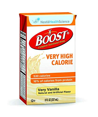 Boost VHC Very High Calorie, Very Vanilla, 8 Ounce, 27 Count by Boost