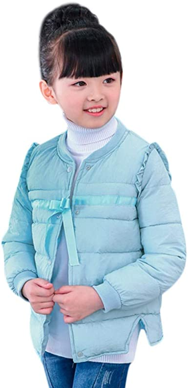Infant Kids Child Boy Girl Coat Jackets Winter Thick Top Waistcoat Clothes Coat 4 Years