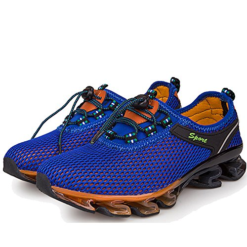 LiliChan Springblade Men's Running Shoes Quick Drying Mesh Water Shoes Lightweight Breathable Athletic Shoes Royalblue i5gjzhX5