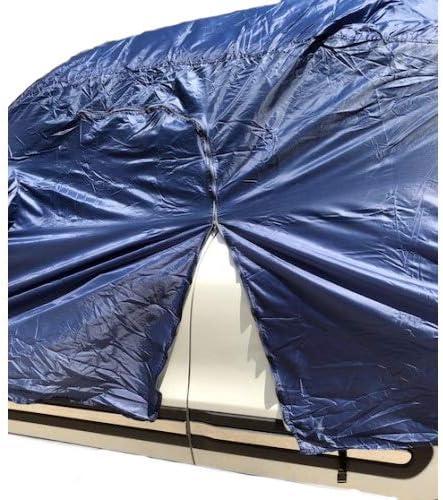 pour Citroen C3 AIRCROSS Housse DE Voiture IMPERM/ÉABLE Toile en Nylon B/ÂCHE Taille L 482X196X120CM Couverture Anti-Rayures Universelle