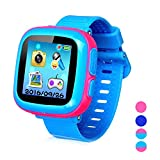 Smart Watch for Kids Girls Boys,Smart Game Watch with Camera Touch Screen Pedometer,Kids Smart Watch Perfect Holiday Birthday Toys Gifts (Joint Pink)