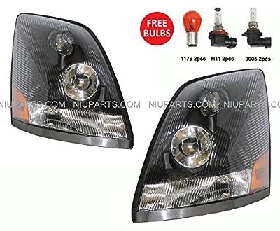 Volvo VNL Headlight Lamp - Driver & Passenger Side