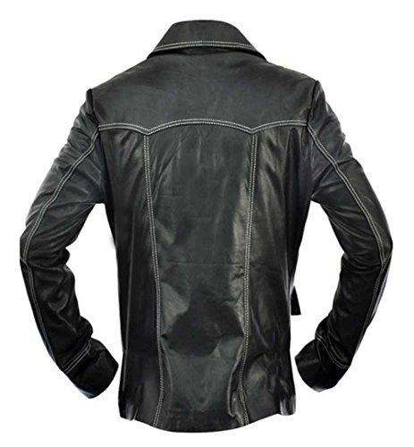 eGenius Herren Daunenjacke Mantel schwarz schwarz
