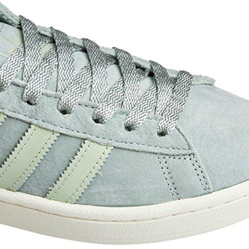 Adidas Campus W Tattile Di Lino Verde Verde Pistazie Bianco (41)