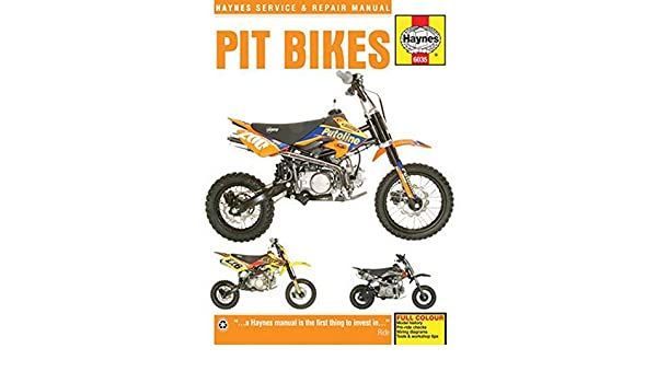 Pit Bikes Haynes Service & Repair Manual by Editors of Haynes Manuals 2016-05-15: Amazon.es: Editors of Haynes Manuals: Libros