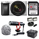 Sony a6300 Mirrorless Camera with 18-135mm Lens Video Creator Bundle