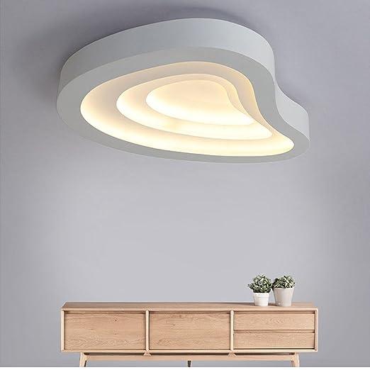 AllureFeng 72W LED Bianco Moderno Plafoniera Plafoniera ...