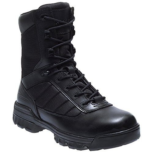 Bates Men's Ultra-Lites 8 Inches Tactical Sport Side Zip Work Boot,Black,11.5 EW US