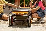 "WORX WA0228 Aerocart Wheelborrow Wagon Kit, 19"" x"