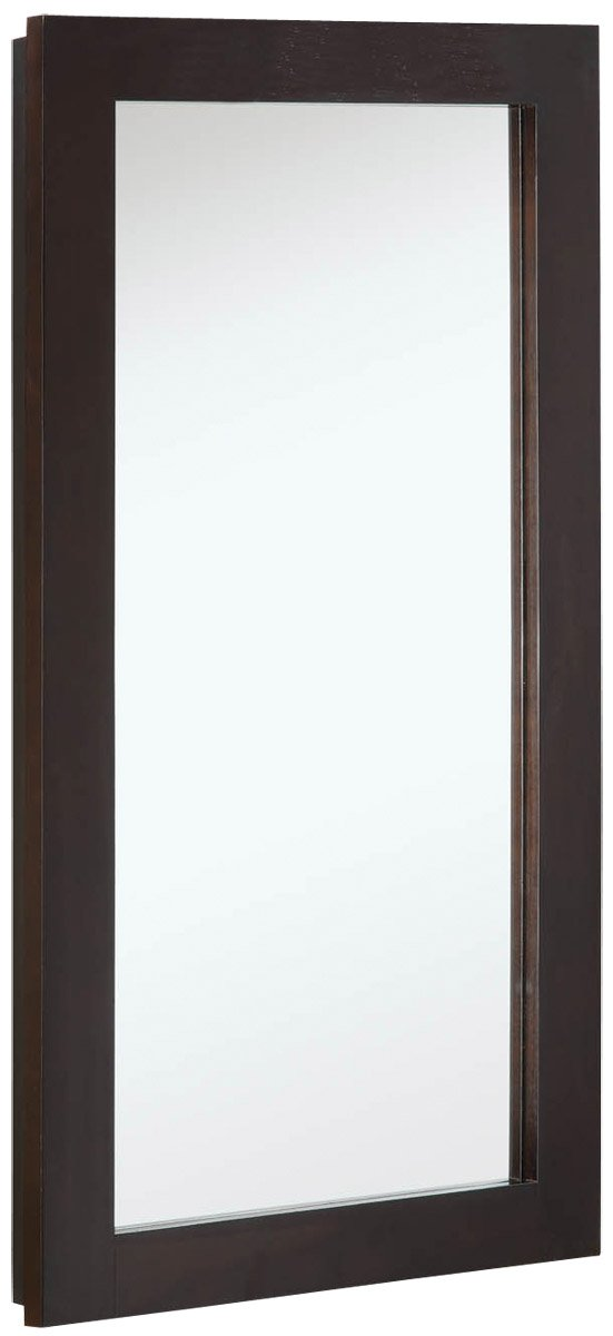 Design House 541326 16-Inch by 30-Inch Ventura Single Door Medicine Cabinet, Espresso