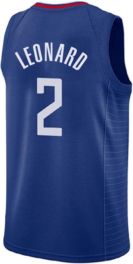 Camiseta de Los Angeles Clippers Leonard No. 2, Camiseta de ...