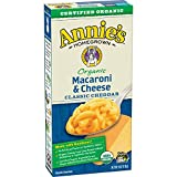 Annie's Organic Classic Mild Cheddar Macaroni & Cheese, 12 Boxes, 6oz  (Pack of 12)