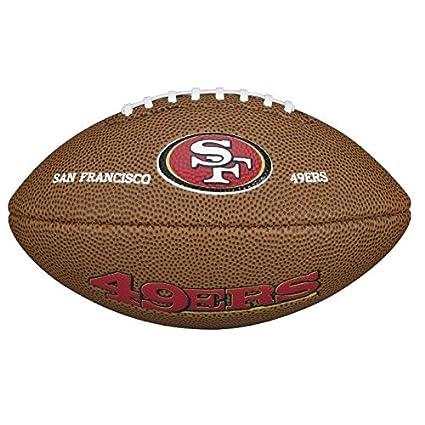 Wilson NFL Team Logo San Francisco 49Ers Mini balón de fútbol ...