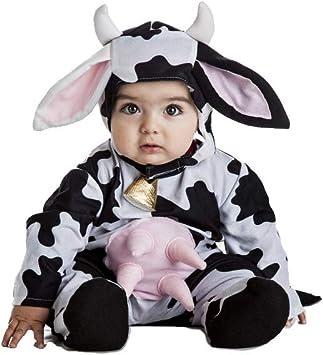 Disfraz Vaca Bebe Talla 0-6 Meses: Amazon.es: Juguetes y juegos