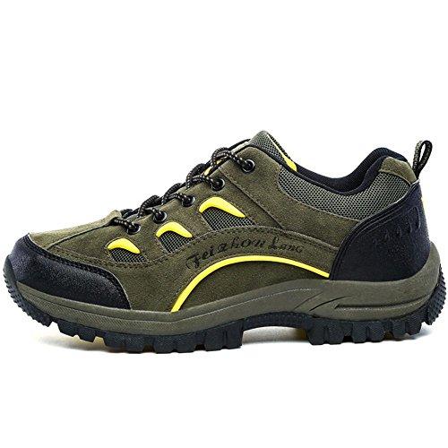 Moda Moda Trekking Green Escursionismo COOLCEPT Scarpe Scarpe Scarpe Uomo Stivali qxtw87ag7