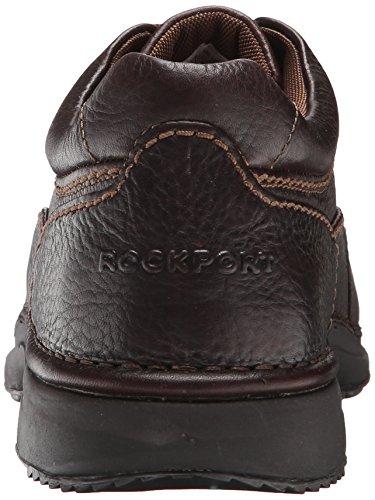 Brown World Men's Rockport Tumbled Tour Leather Classic Dark vT1Xxwq