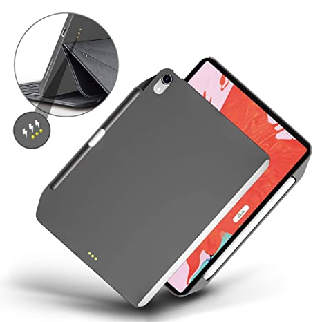 outlet store b434d b2fd7 SwitchEasy CoverBuddy iPad Pro 11'' Case 2018, Perfect for Official Smart  Keyboard and Smart Cover, Full-Body Protective Case with Pencil Holder for  ...