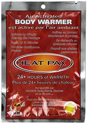 Heat Pax 24hour Body Warmers for Pets and People, 10 per Pack by HeatPax