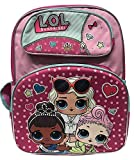 L.O.L Surprise 3D Backpack & Lunch Bag 2pc Set Pink School Bag L.O.L Deal (Small Image)