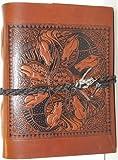 Celtic Journal Horse Epona-mandela Leather Journal W/handmade Paper
