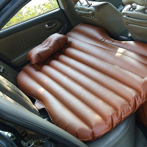 GYP パッド車のベッドをスリーピングカークッションベッド車のドライブアウトドアキャンプカーSUVリアシートベッドシートベッドカートラベルベッド車のアダルト ( 色 : ブラウン ぶらうん ) B078R8WBS9  ブラウン ぶらうん