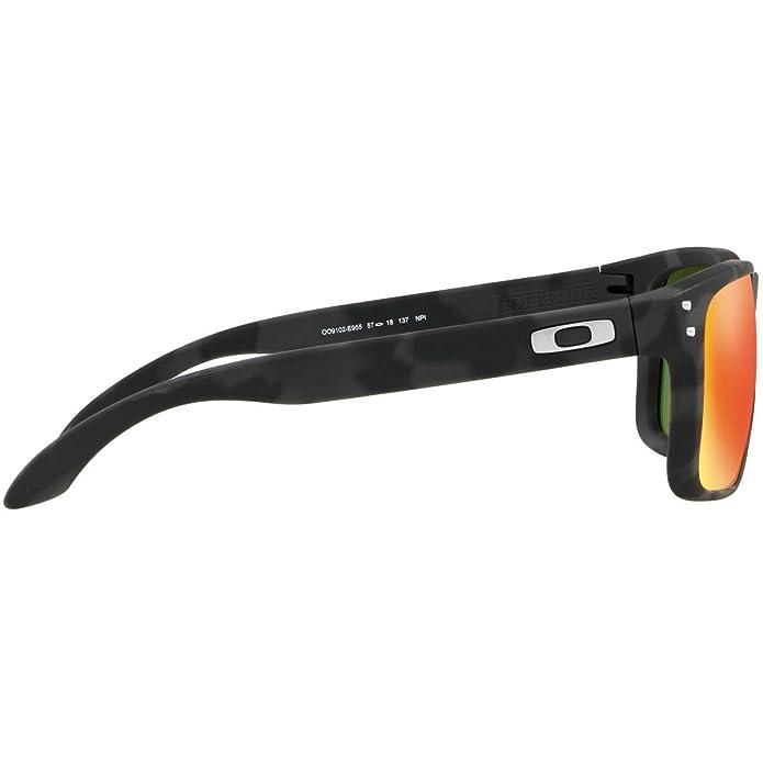 Oakley Holbrook OO9102 Iridium Sport Sunglasses