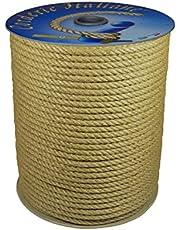 Corderie Italiane 006044079 jute touw, 8 mm, 50 m, natuur