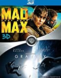 Mad Max Fury Road and Gravity (3D) Blu-Ray