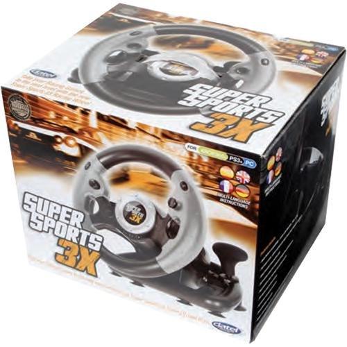 SuperSport 3X Racing Wheel - Standard Edition Datel DUS0322-I
