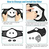 2 Pc Reusable Face Protector, Washable Breathable