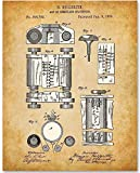 First Computer 1889-11x14 Unframed Patent Print - Makes a Great Gift Under $15 for IT Professionals, Programmers and Geeks
