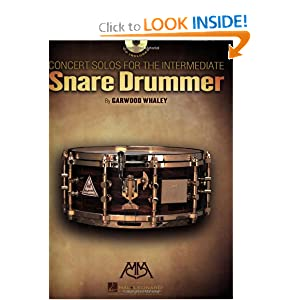 Concert Solos for the Intermediate Snare Drummer (Meredith Music Percussion) Garwood Whaley
