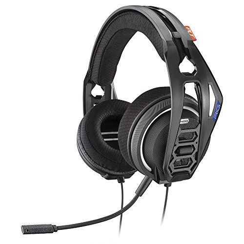 Plantronics Gaming Headset, RIG 400HS Stereo Gaming Headset for PS4 with Noise-Cancelling Mic and Performance Audio